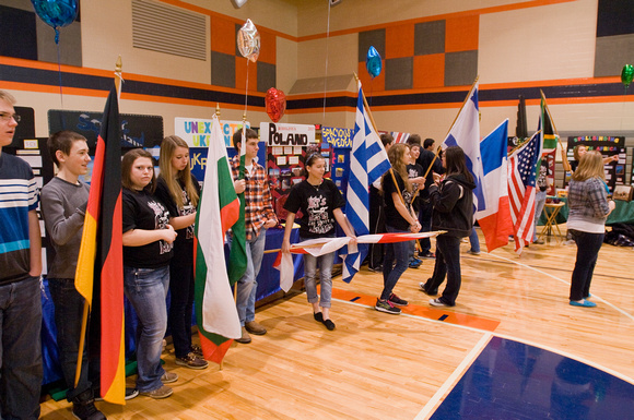 International Festival at Carterville High School