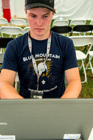 2017-07-23-05_HTN Correspondent working in the tent